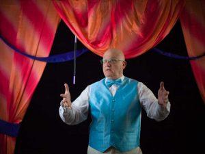 magic marketing person magician Derrel Allen